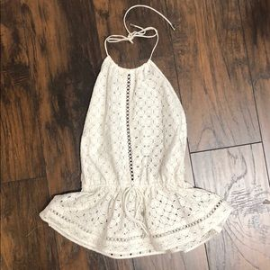 Zimmermann White Haulter Top